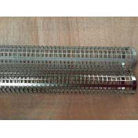 Buy cheap Zhi Yi Da Straight Seam Perforated Metal Welded Tubes Filter Frame Filter Element product