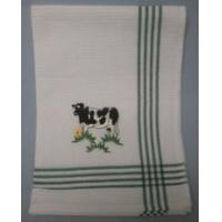 Quality Embroidered Cow Tea Towel wholesale