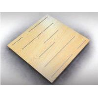 China 2017 wood fiber acoustical ceiling tiles prices on sale