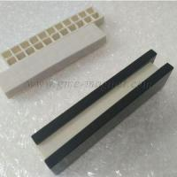 Quality N40UH F100x25x6mm Neodymium Block Magnets Black Epoxy Coated Magnets wholesale
