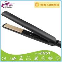 Buy cheap LED Indicate Adjustable Temperature Ceramic Hair Straightener for Brown Hair ES51 from wholesalers