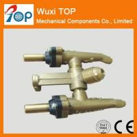 Buy cheap 30 degree Twin Brass Valves CE CSA Certified from wholesalers