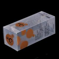 Buy cheap Customized bottle package plastic clear to see pp box from wholesalers