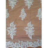 China Bridal Lace Fabric High Quality White Bridal Lace (W9003) on sale