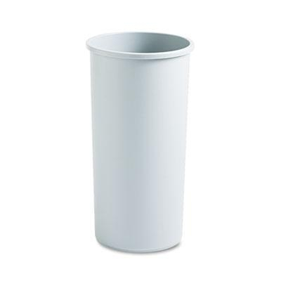 Cheap Janitorial Supplies Rubbermaid Commercial Untouchable Large Plastic Round Waste Receptacle for sale