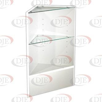 Cheap Display Cases & Counters Triangular Corner - White for sale