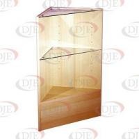 Display Cases & Counters Triangular Corner - Maple