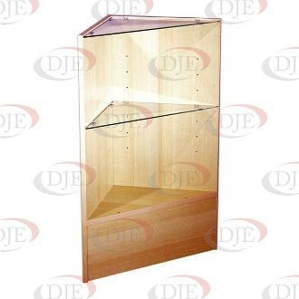 Cheap Display Cases & Counters Triangular Corner - Maple for sale