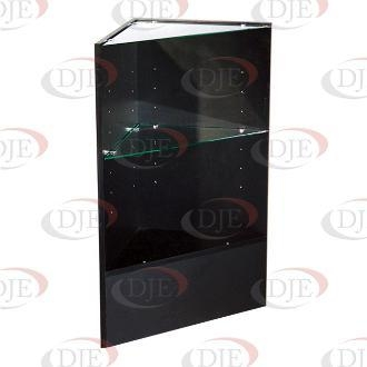 Cheap Display Cases & Counters Triangular Corner - Black for sale