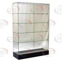 Display Cases & Counters Frameless Wallcase - Black