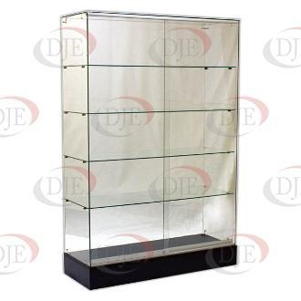 Cheap Display Cases & Counters Frameless Wallcase - Black for sale