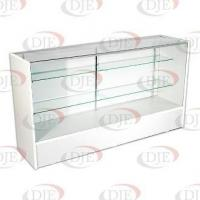 "Quality Display Cases & Counters 70"" Full View Showcase - White wholesale"