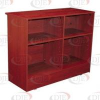 "Quality Display Cases & Counters 70"" Wrap Counter - Walnut wholesale"