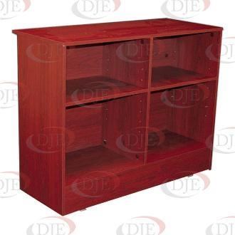 """Cheap Display Cases & Counters 70"""" Wrap Counter - Walnut for sale"""