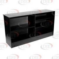 "Quality Display Cases & Counters 70"" Wrap Counter - Black wholesale"