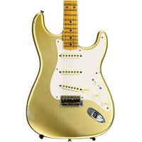 China Fender Custom Shop 1957 Time Machine Relic Stratocaster - HLE Gold on sale