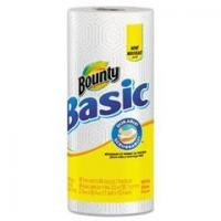 Quality PGC 84662 Bounty Basic Paper Towels, 11 x 10 2/5, White wholesale
