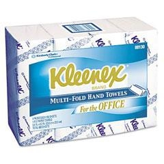 Cheap KCC 88130 KIMBERLY-CLARK PROFESSIONAL* KLEENEX Multifold Paper Towels, 9 1/5 x 9 2/5, White for sale