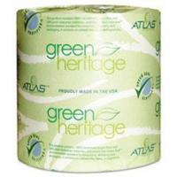 Quality APM 205GREEN Atlas Paper Mills Green Heritage Bathroom Tissue, 2-Ply Sheets, White wholesale
