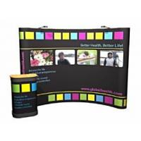 China Pop-Up Exhibition Stand Packages 3x3 From 399 Curved All Sizes on sale