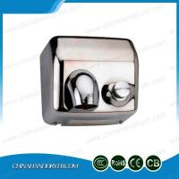 Quality Push Button Hygiene Bathroom Stainless Steel Fastaire Warm Air Hand Dryer wholesale