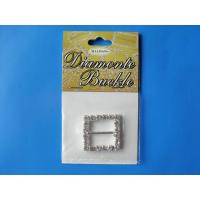 Buy cheap DIAMONTES BUCKLE 25MM SQUARE from wholesalers