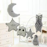 Quality Creative Luminious Plush Star, Moon, Genius, Owl Plush Pillow Baby Comforting Pillow Cute Toy for Ch wholesale