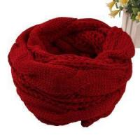 Quality Wholesale Fried Dough Twist Knitting Wool and Cotton Scarf Collar Winter Knitted Woman's Collar Hot wholesale