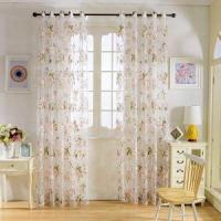 Quality SINOGEM 2017 Modern Floral Finished Tulle Window Treatments Sheer Curtains for Living Room The Bedro wholesale