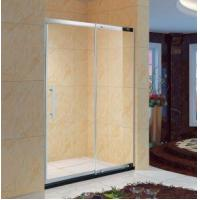 China Framed Sliding Bathroom Shower Glass Door, with Replacement Parts,1/4 Clear Glass ,Chrome Finish (K on sale