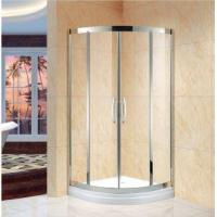 Quality Corner Entry Sliding Walk in Shower Enclosure,36 in. D X 36 in. W Kit, White Acrylic Showe Trays(KT5 wholesale
