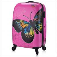 Personalized Butterfly PC Luggage Suitcase