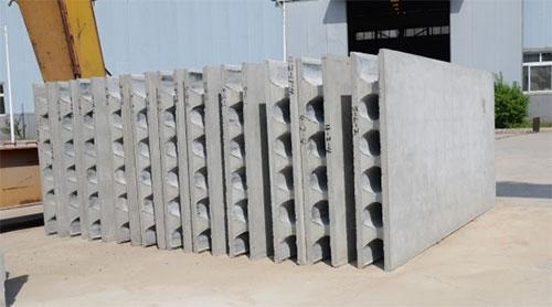 Cheap EVE Precast concrete round hole wall panel for sale