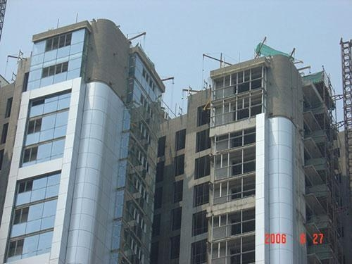 China EVE insulation curtain wall panel