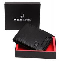 WildHorn Old River Black Genuine High Quality Mens Leather Wallet