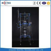 Buy cheap Laboratory Chemical 100L Double Glass Reactor from wholesalers