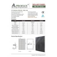 China SOLAR 230W~250W solar panel on sale