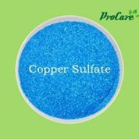 Buy cheap Procare Aricultural Grade High Quality Bule Crystal Powder Copper Sulfate Pentahydrate Micronutrient from wholesalers