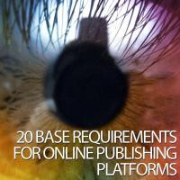 Buy cheap 20 Base Requirements for Online Publishing Platforms product