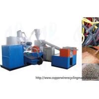 Buy cheap Copper cable wire recycling machine Waste copper cable recycling equipment product