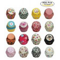 China Paper-Baking-Cups SophieBella 400 pcs 16-Styles Cupcake-Liner for Holiday Party on sale