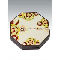 China Octagonal box cover moon cake on sale