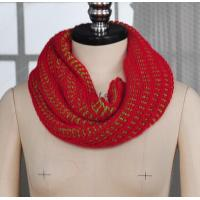 Buy cheap Custom Design Knitted Faux Cashmere Wool Acrylic Infinity Scarf from wholesalers