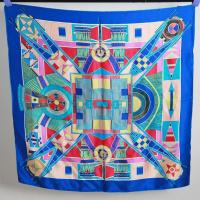 Buy cheap Factory Direct Custom Digital Printed Chinese Silk Scarf from wholesalers