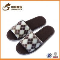 Buy cheap Latest Design Spring Men's Slippers Napped Cloth EVA Floor Shoe from wholesalers