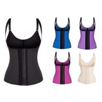 Quality Latex Waist Cincher Waist Trainer Trimmer Long Torso with 3 Hook Rows wholesale