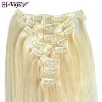 Quality Remy Clip In On Natural Human Hair Extensions wholesale