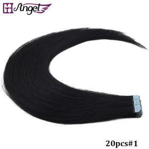 Cheap Top Quality Tape In On Natural Remy Human Hair Extensions Skin Weft for sale