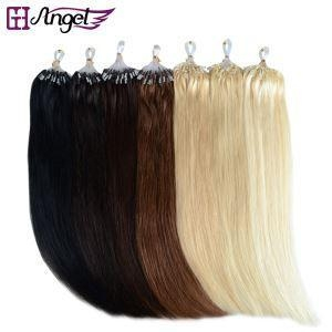 Cheap Micro Links Rings Loop Remy 100% Human Hair Extensions No Tangle for sale