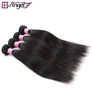 Cheap Real Human Hair Weave Bundles Unprocessed Straight Virgin Hair Wefts for sale
